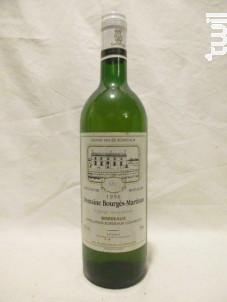 Domaine Bourgès Martineau - Domaine Bourgès-Martinau - 1996 - Blanc