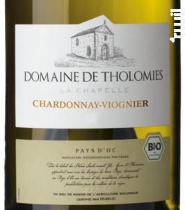 Chardonnay - Domaine de Tholomies - 2016 - Blanc