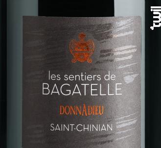 Sentiers de Bagatelle. Donnadieu - Clos Bagatelle - 2016 - Rouge