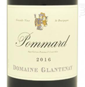 Pommard - Domaine Glantenay Pierre et Fils - 2013 - Rouge