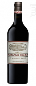 Château Troplong Mondot - Château Troplong Mondot - 2018 - Rouge