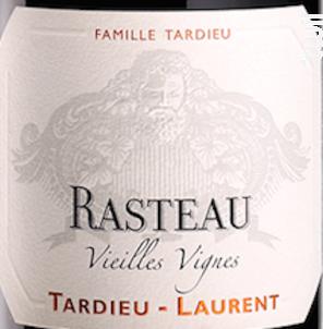 Rasteau Vieilles Vignes - Maison Tardieu Laurent - 2017 - Rouge
