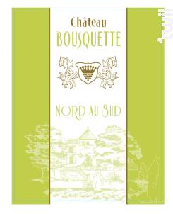 Nord au Sud - Château Bousquette - 2018 - Blanc