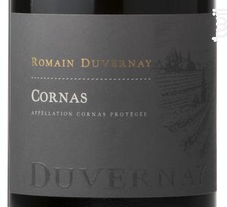 Cornas - Romain Duvernay - 2014 - Rouge
