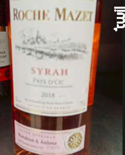 Syrah - Rosé - Roche Mazet - 2018 - Rosé
