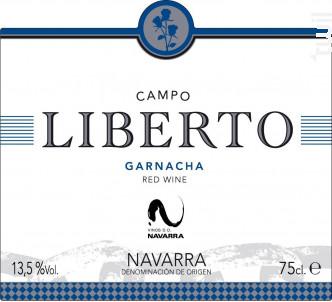 Garnacha - Campo Liberto - 2013 - Rouge