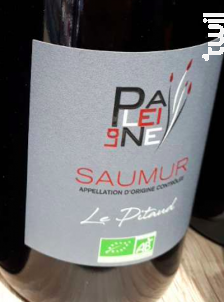 Saumur - Le Pitaud - Domaine de La Paleine - 2018 - Rouge