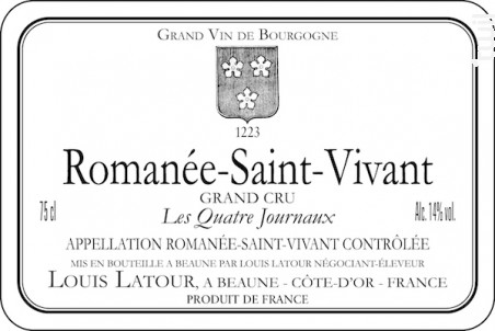 ROMANÉE-St.-VIVANT