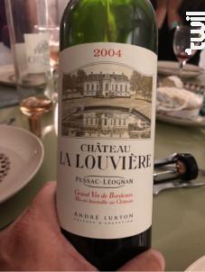 Château La Louvière - Vignobles André Lurton- Château la Louvière - 2001 - Blanc