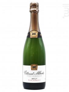 Crémant de Bourgogne Blanc de Blancs Brut - Maison Vitteaut-Alberti - Non millésimé - Effervescent