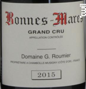 Bonnes Mares Grand Cru - Domaine G. Roumier - 2017 - Rouge