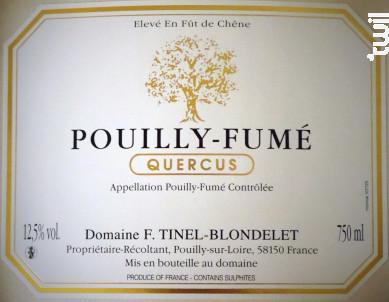 Quercus - DOMAINE TINEL BLONDELET - 2015 - Blanc