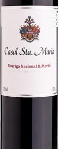 Casal Santa Maria Touriga Nacional & Merlot Tinto - Casal Santa Maria - Non millésimé - Rouge