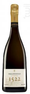 Cuvée 1522 Grand Cru Brut Millésimé - Champagne Philipponnat - 2007 - Effervescent
