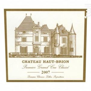 Château Haut-Brion - Domaines Clarence Dillon- Château Haut-Brion - 2007 - Rouge