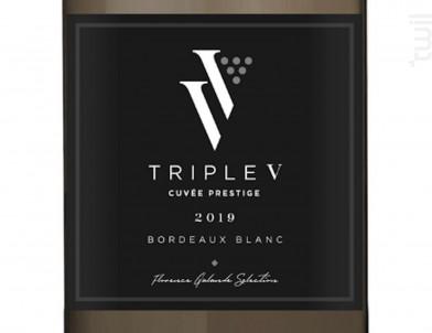 Cuvée Prestige - Triple V - 2019 - Blanc