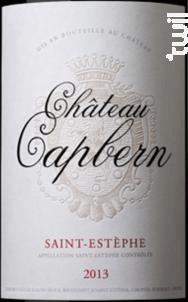 Château Capbern - Château Capbern - 2013 - Rouge