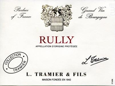 Rully - Maison L. Tramier et Fils - 2016 - Rouge