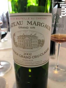 Château Margaux - Château Margaux - 2002 - Rouge