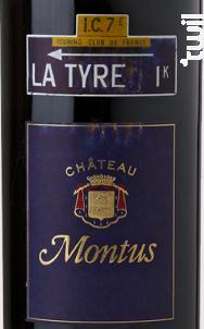 Château Montus - La Tyre - Château Montus - 2007 - Rouge