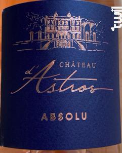 Cuvée Absolu - Château d'Astros - 2020 - Rosé
