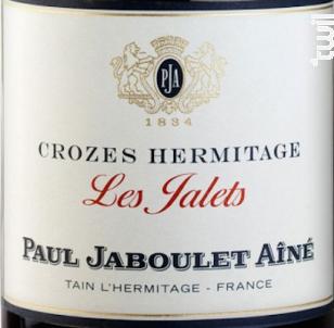 Les Jalets - Paul Jaboulet Aîné - 2016 - Rouge