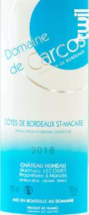 Bordeaux Blanc Sec - Château Huneau - 2018 - Blanc