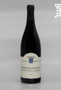 Bourgogne Hautes Côtes de Beaune - Maison Paul Reitz - 2017 - Rouge