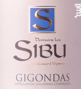 Gigondas - Domaine Les Sibu - 2018 - Rouge