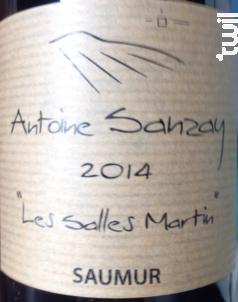 Les Salles Martin - Domaine Antoine Sanzay - 2018 - Blanc
