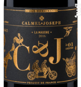 LA MADONE - Calmel & Joseph - 2017 - Rouge