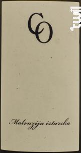 Malvazija - Domaine Coronica - 2015 - Blanc