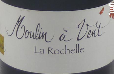 La Rochelle - Domaine Olivier Merlin - 2010 - Rouge