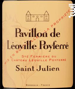 Pavillon de Léoville Poyferré - Château Léoville Poyferré - 2017 - Rouge