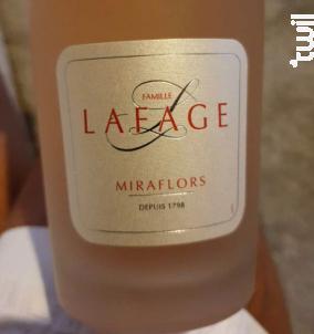 Miraflors - Domaine Lafage - 2018 - Rosé