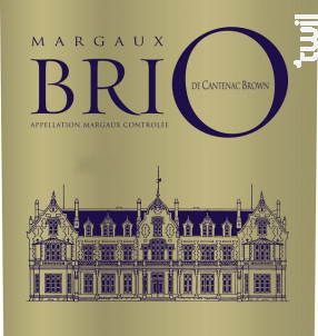 Brio de Cantenac Brown - Château Cantenac Brown - 2013 - Rouge