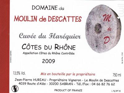 Cuvée de Flaréquier - Domaine du Moulin de Descattes - 2014 - Rouge