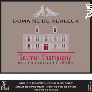 Cuvée des Nerleux - Domaine de Nerleux - 2017 - Rouge