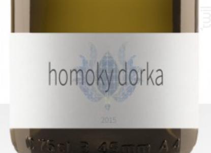 Bartfai - Domaine DORKA HOMOKY - 2015 - Blanc