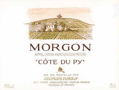 Morgon Côte du Py - Domaine Duboeuf - 2015 - Rouge