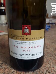 Les Naugues - Domaine Jean Marechal - 2017 - Rouge