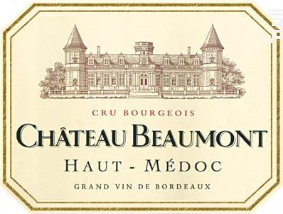 Château Beaumont - Château Beaumont - 2014 - Rouge