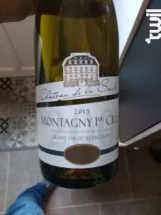Montagny 1er cru - Château de la Saule - 2015 - Blanc