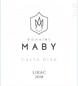 Casta Diva - Domaine Maby - 2018 - Blanc