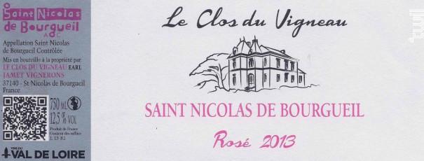 Le clos du Vigneau - Le Clos du Vigneau - 2017 - Rosé