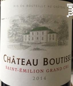 Château Boutisse - Château Boutisse - 2014 - Rouge