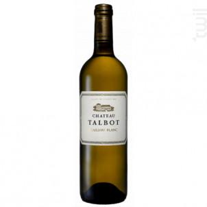 Caillou Blanc de Château Talbot - Château Talbot - 2014 - Blanc