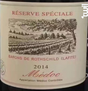 Réserve Spéciale - Domaine Lafite -Baron de Rothschild - 2012 - Rouge