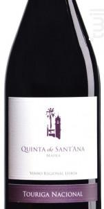 Quinta De Sant'ana Touriga Nacional - Quinta de Sant'Ana - 2011 - Rouge