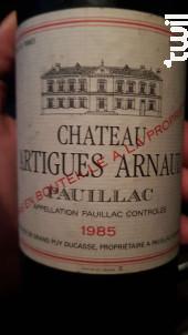 Château Artigues Arnaud - Chateau Artigues Arnaud - 1997 - Rouge